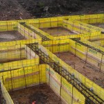 Piled Foundation Passed and Approved by Building Control and NHBC